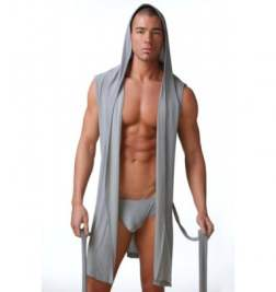 Мужской халат N2N Dream Robe Grey