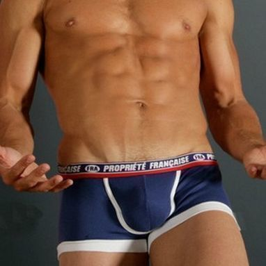 Мужские трусы хипсы Aussiebum Patriot Property of  France Dark Blue